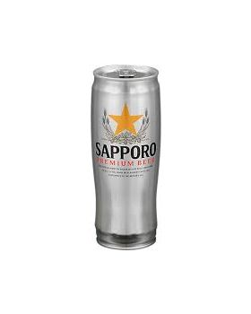 Sapporo Premium Beer (500ml x 24cans)