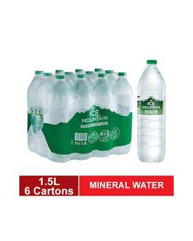 Ice Mountain Drinking Water (12 bottles x 1.5L)